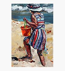 Day At The Beach Photographic Print