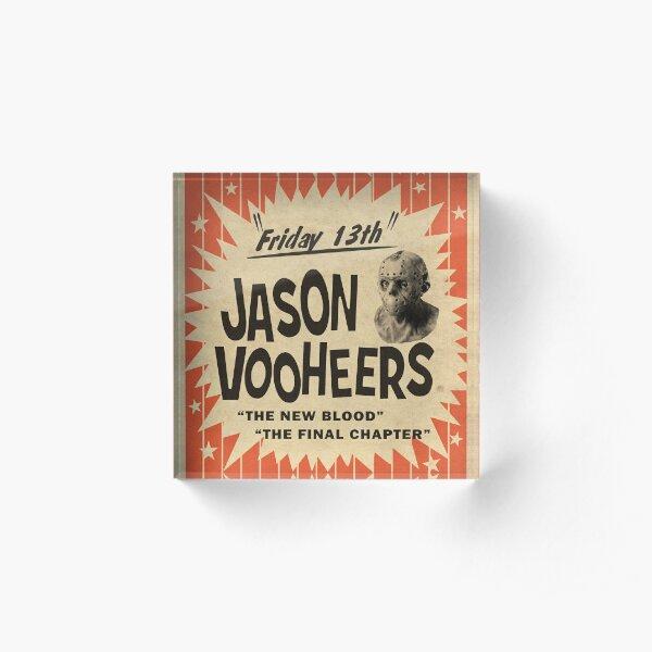 Jason in Person Acrylic Block