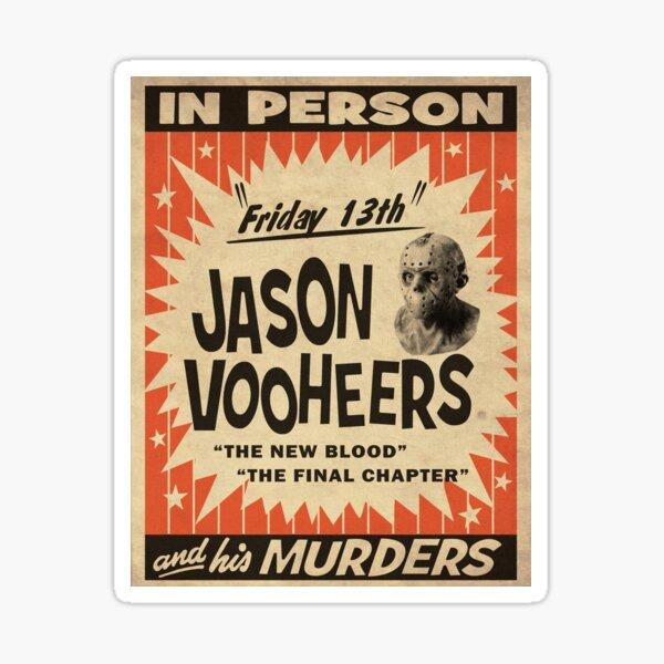 Jason in Person Sticker