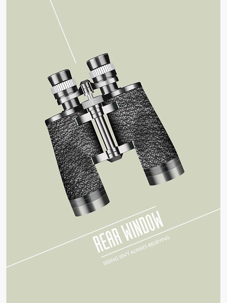 Rear Window - Alternative Movie Poster by MoviePosterBoy