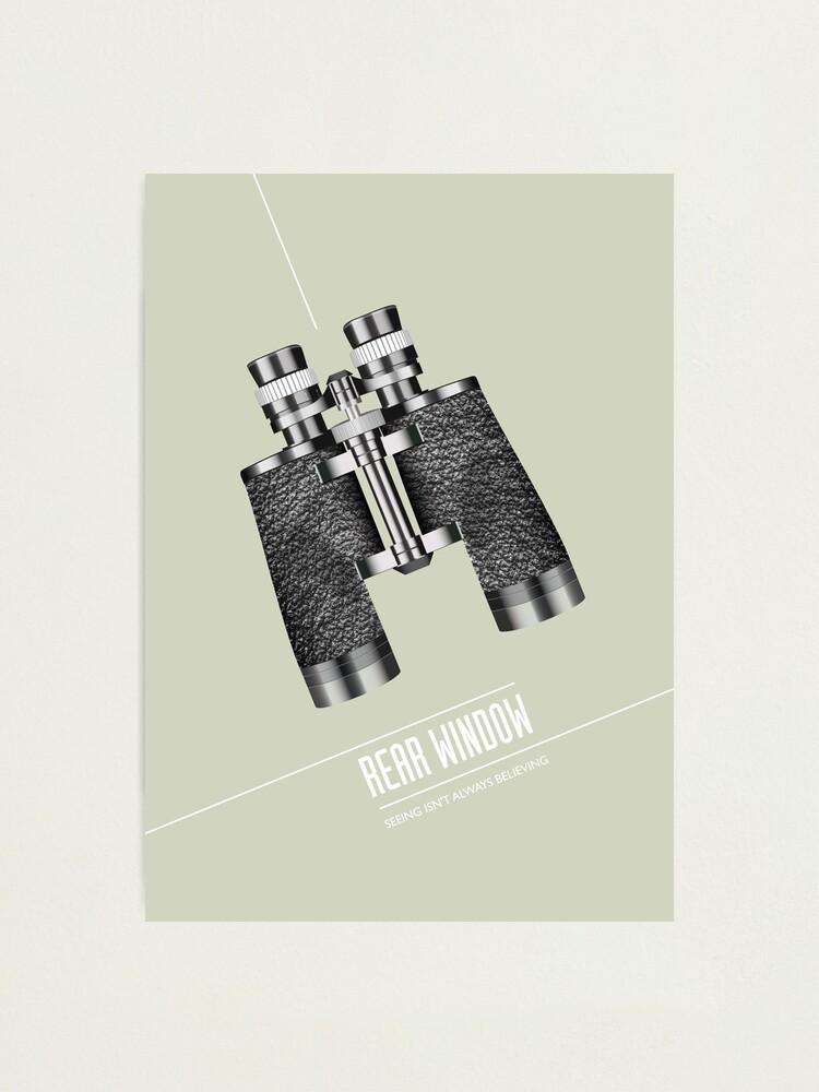 Alternate view of Rear Window - Alternative Movie Poster Photographic Print