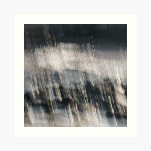 Beach Abstract One Art Print