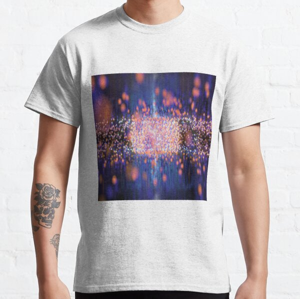 #abstract, #design, #pattern, #art, #futuristic, shape, illustration, creativity, science, illuminated, large, shiny, textured, no people, square, imagination Classic T-Shirt