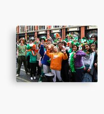 Come on Paddy's - Dublin Canvas Print