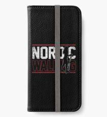 Nordic Walking Natur  iPhone Flip-Case/Hülle/Klebefolie
