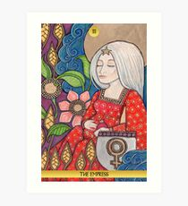III The Empress Tarot Card Art Print