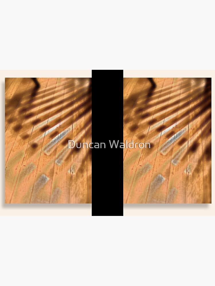 Shadowed floorboards by DuncanW