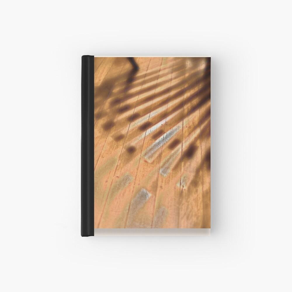 Shadowed floorboards Hardcover Journal