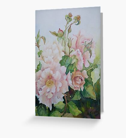 Julia's Rose Greeting Card