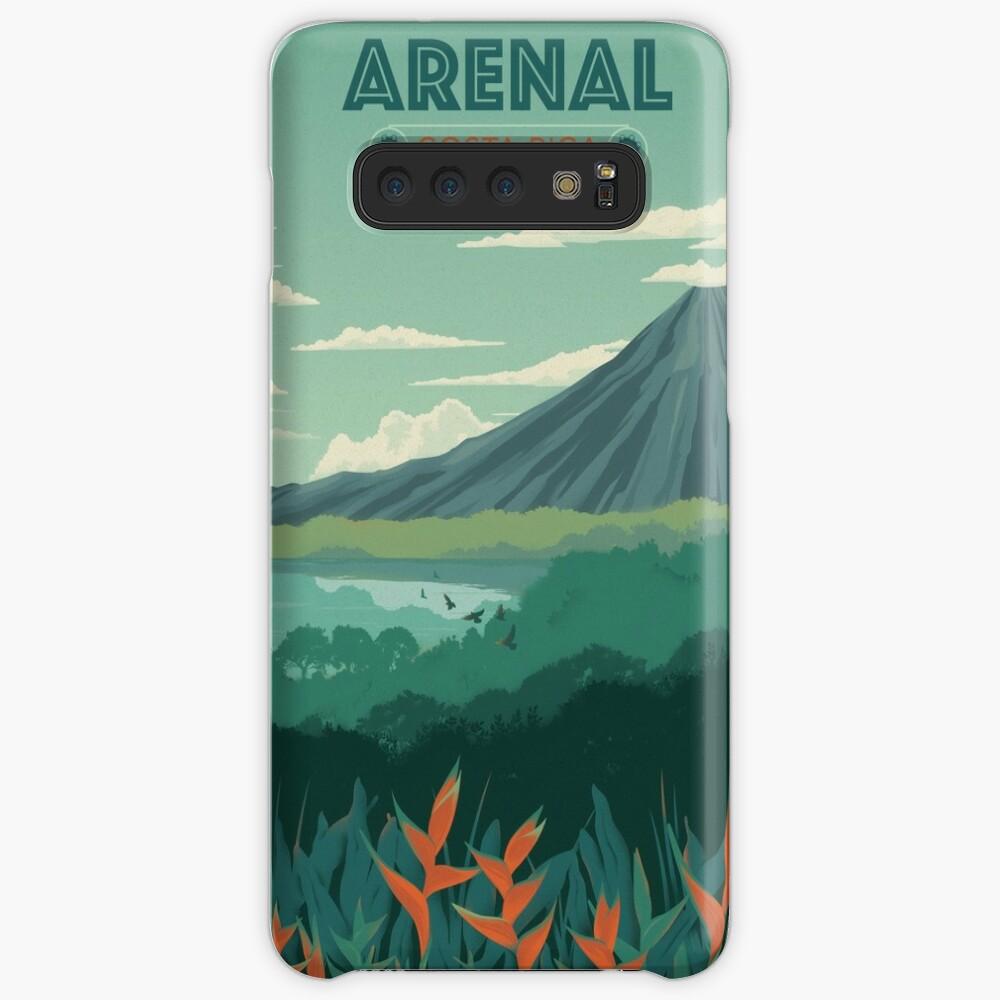 Arenal, Costa Rica Hüllen & Klebefolien für Samsung Galaxy