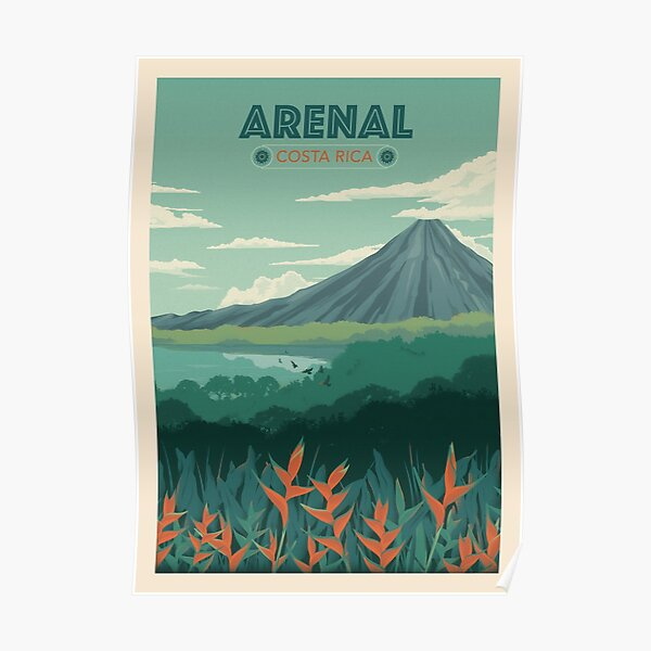 Arenal, Costa Rica Poster