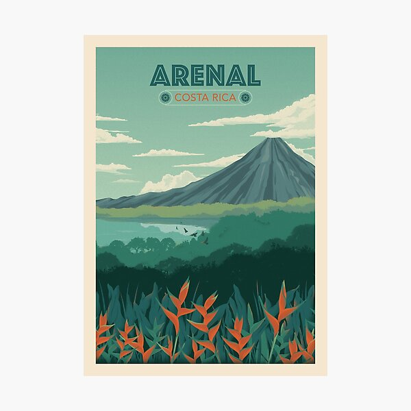 Arenal, Costa Rica Photographic Print