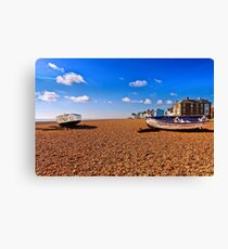 Aldeburgh Beach  Suffolk  Canvas Print