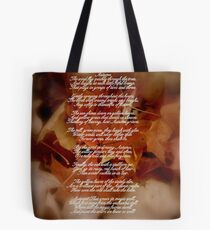 Autumn Poetry Tote Bag