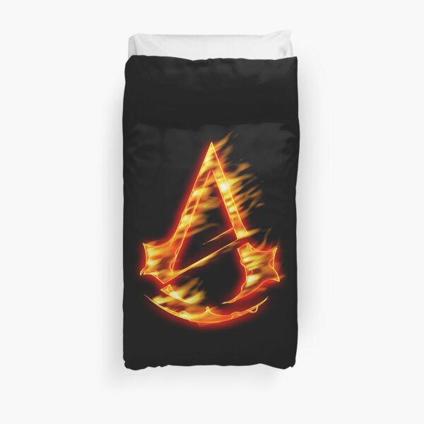 ASSASSIN - fire version Duvet Cover