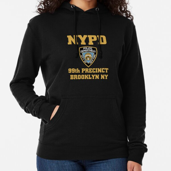 NYPD 99th Precinct Brooklyn NY hoodie Lightweight Hoodie