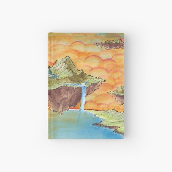 The Floating Islands Hardcover Journal