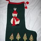 Christmas stocking by linsads