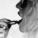 Lipstick & Fingertips by ronda chatelle