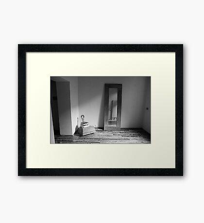 room Framed Print