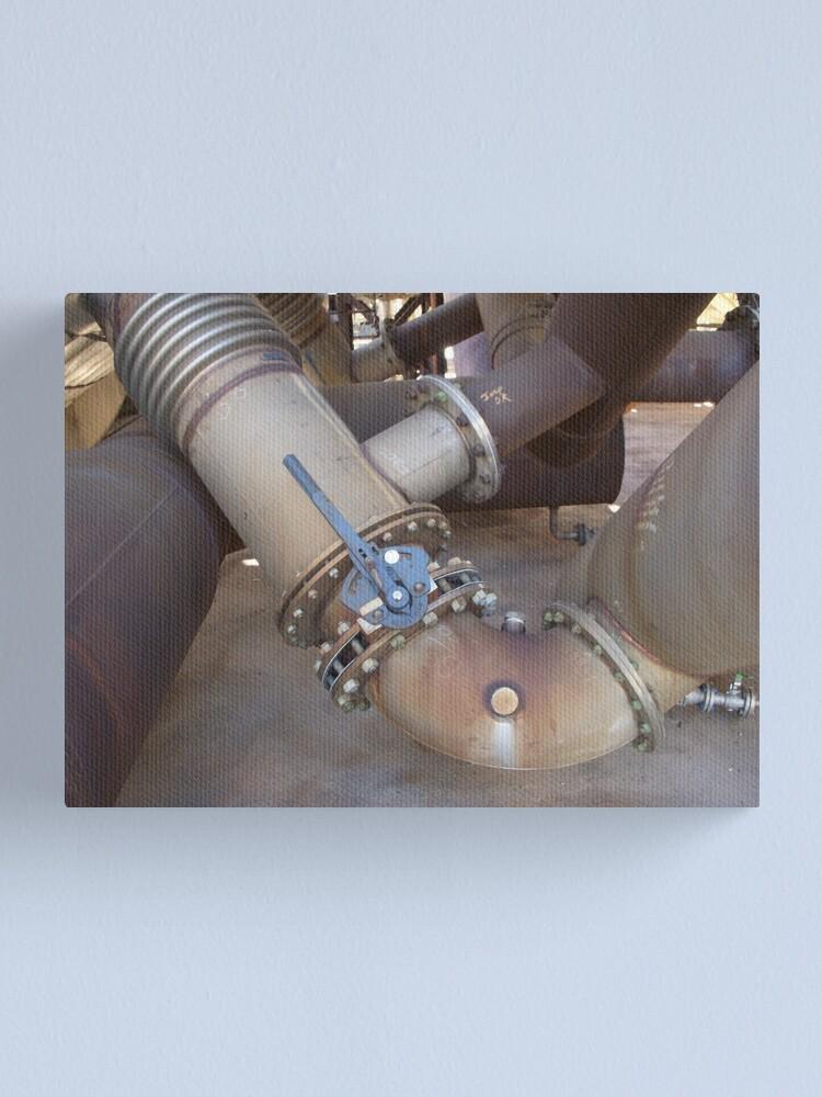 Alternate view of Process Conduit Canvas Print