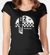 2 Tone Records - The Specials Label Women's Fitted Scoop T-Shirt
