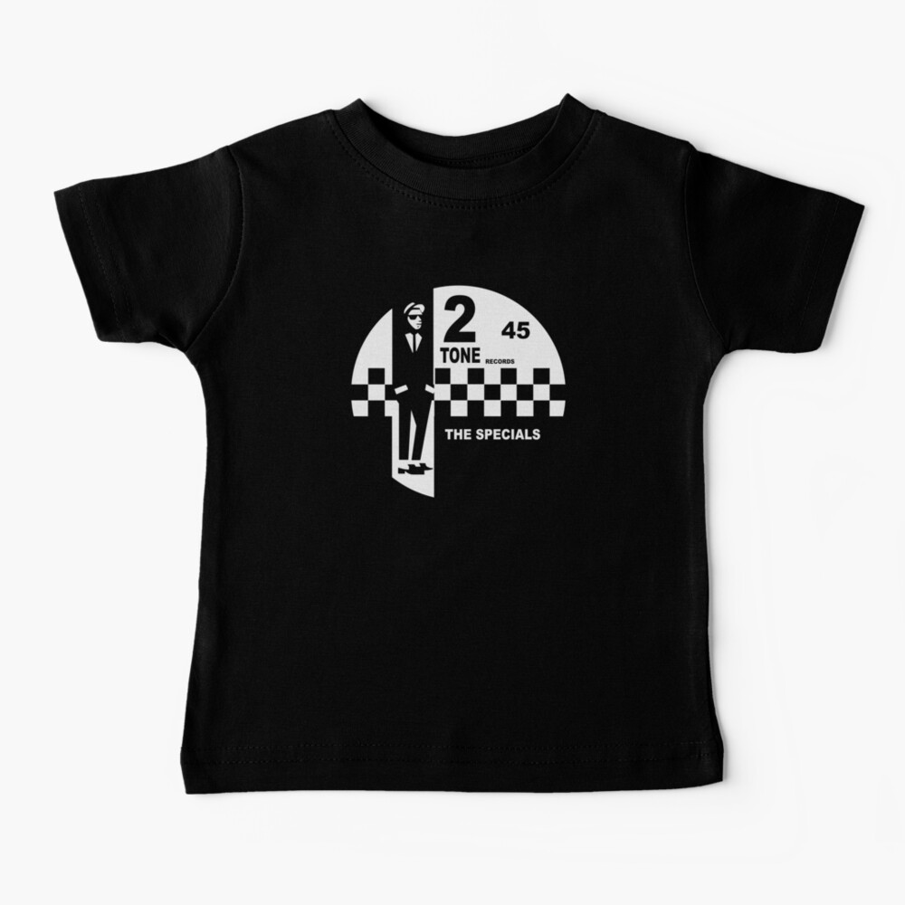 2 Tone Records Shirt - The Specials Ska Label Logo Shirt, Sticker Mask Baby T-Shirt