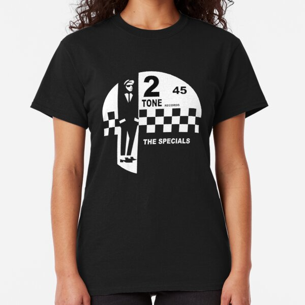 2 Tone Records Shirt - The Specials Ska Label Logo Shirt, Sticker Mask Classic T-Shirt