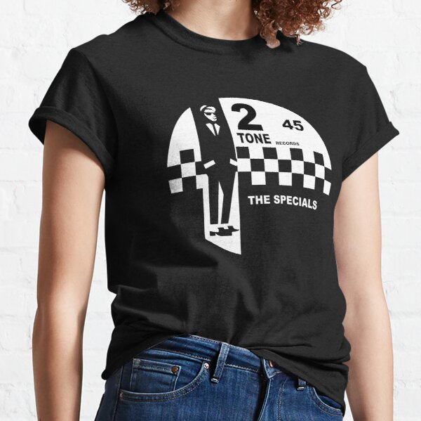 2 Tone Records Shirt - The Specials Ska Label Logo Shirt, Sticker Mask Classic T-Shirt