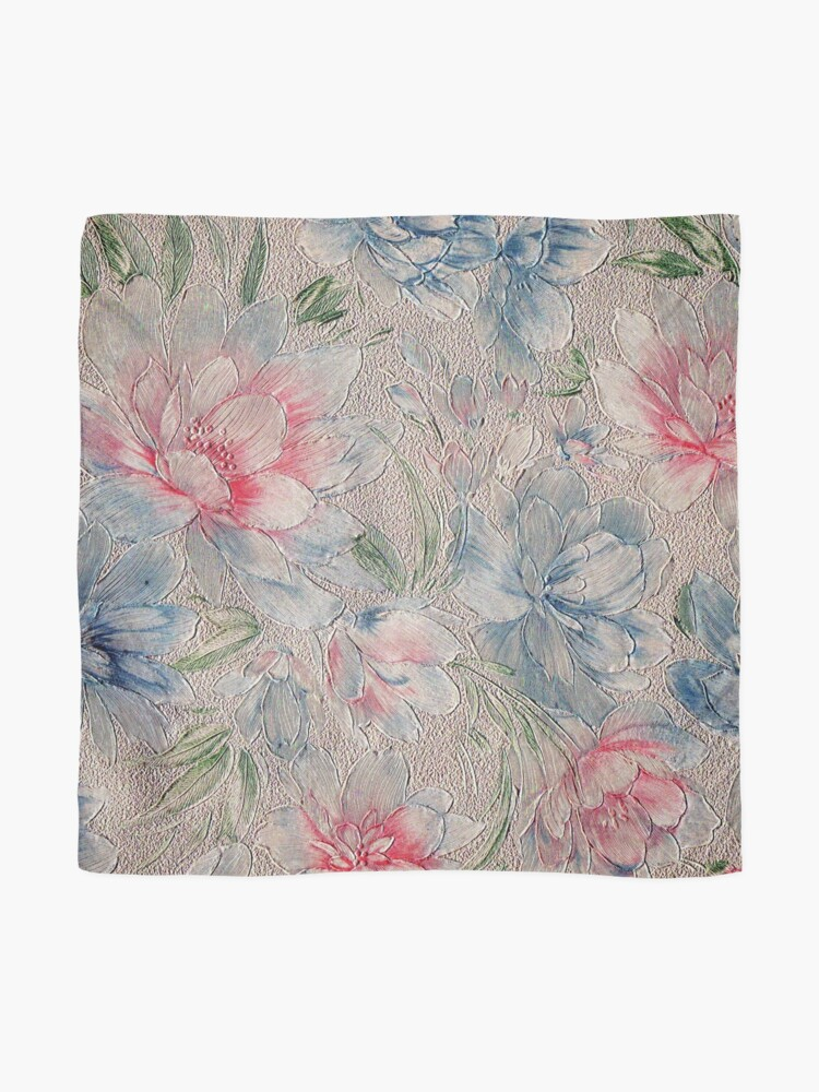 Alternate view of Floral Riot #2 Scarf