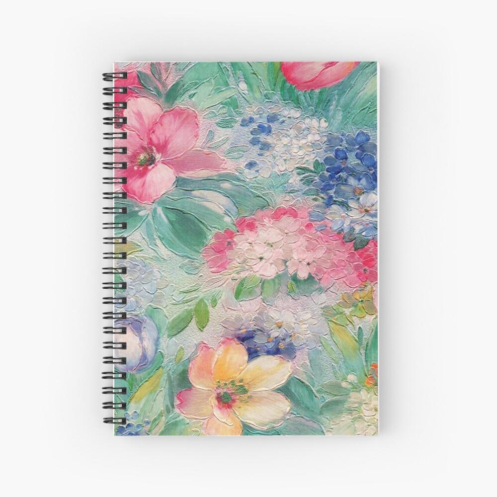 Floral Riot #1 Spiral Notebook