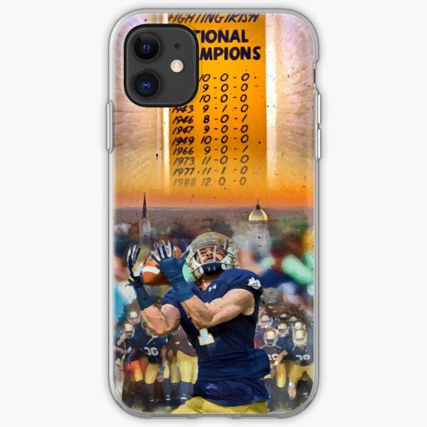 National Championships Notre Dame iPhone Soft Case