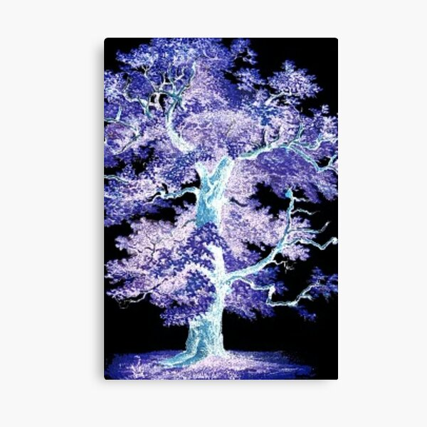 Tree in the Night Canvas Print