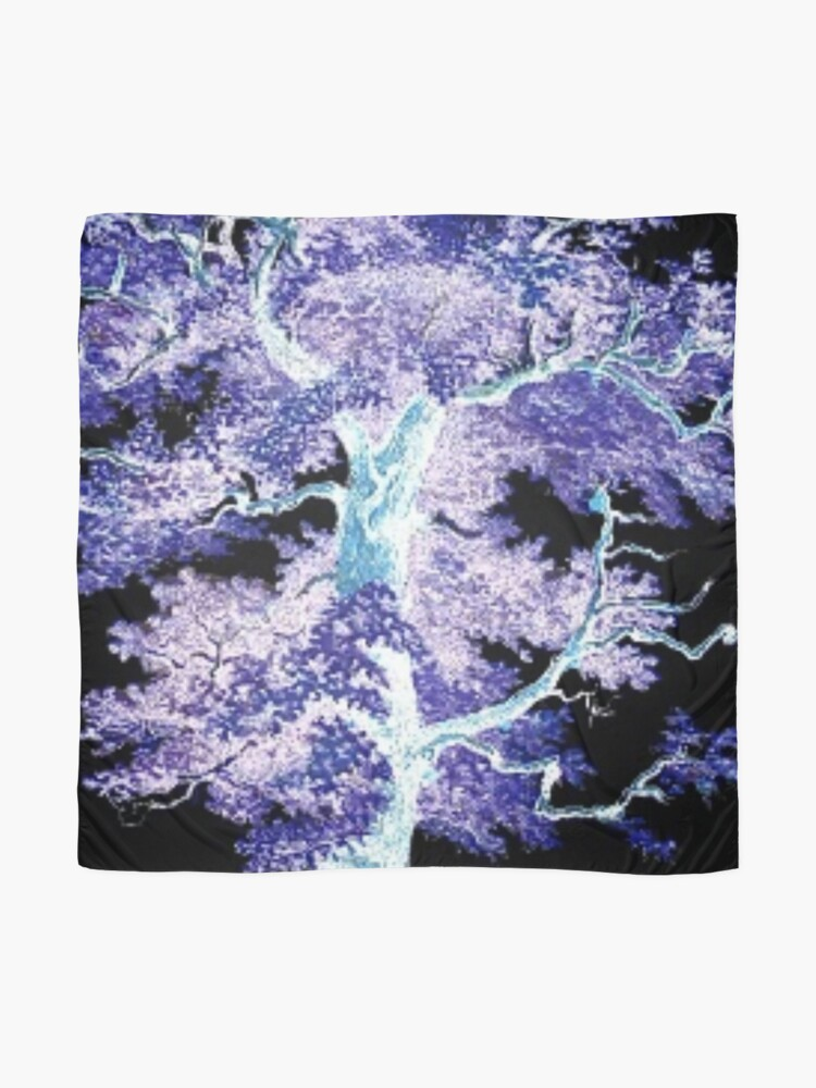 Alternate view of Tree in the Night Scarf