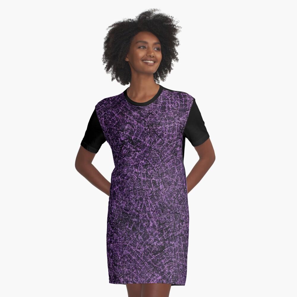Brush #107 Graphic T-Shirt Dress