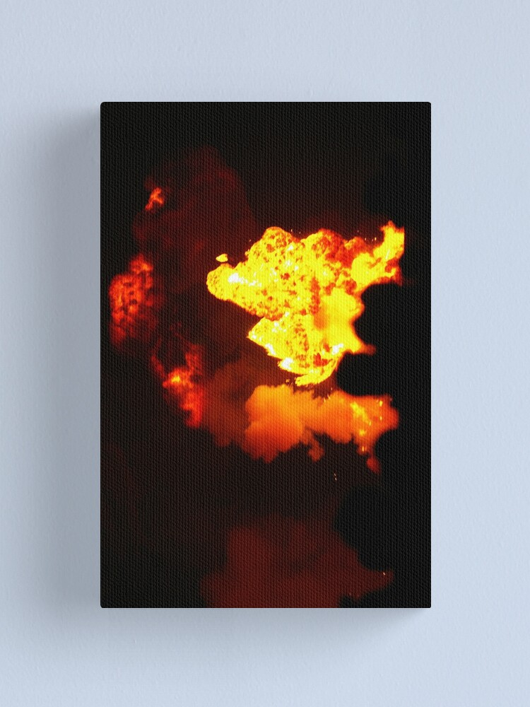 Alternate view of Is That Lava In The Sky? Canvas Print