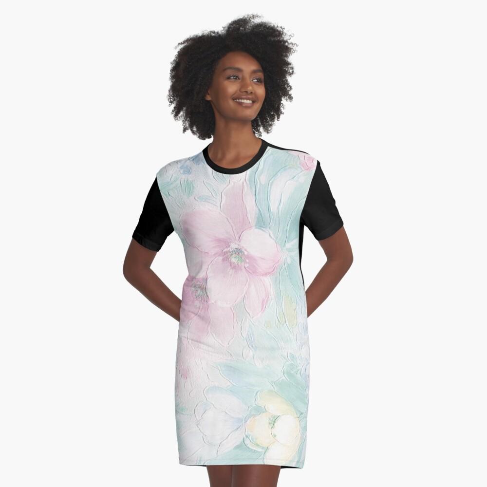 Garden Excerpt #109 Graphic T-Shirt Dress