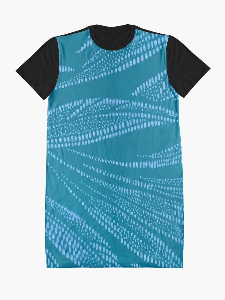 Alternate view of Windblown Graphic T-Shirt Dress