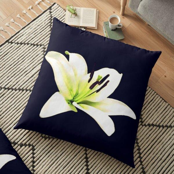 Vanilla Blossom Floor Pillow