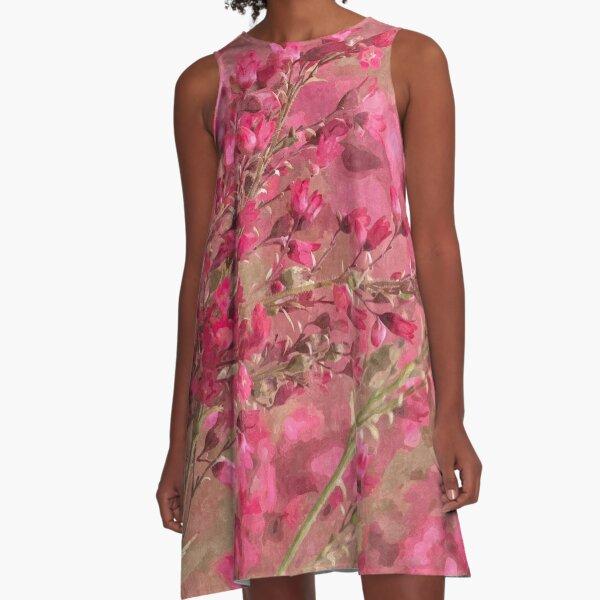 Garden Excerpt #107 A-Line Dress
