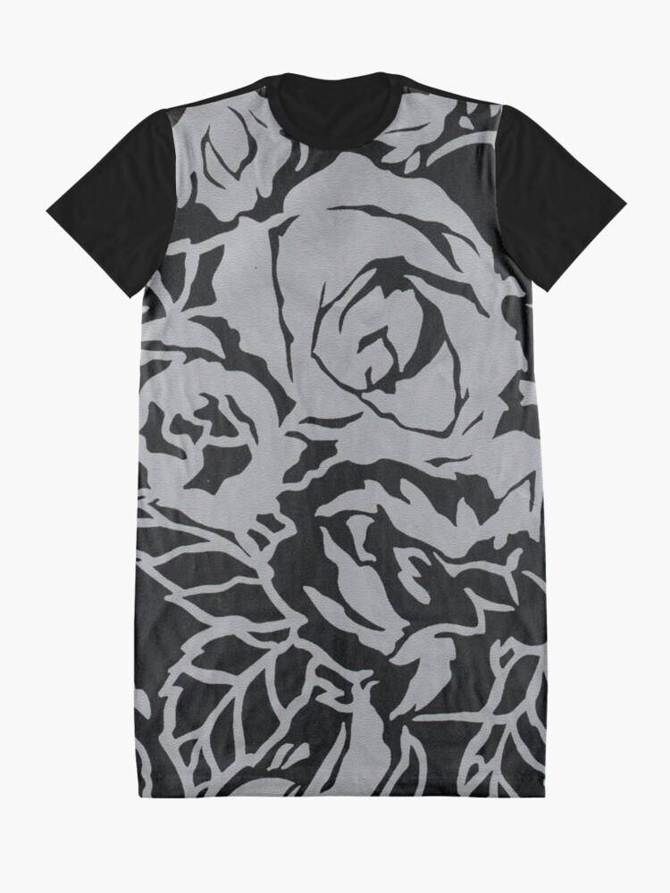 Alternate view of Garden Excerpt #106 Graphic T-Shirt Dress