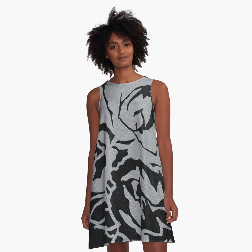 Garden Excerpt #106 A-Line Dress