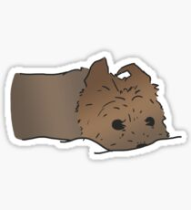 Yorkshire Terrier Cute Yorkie Design Sticker