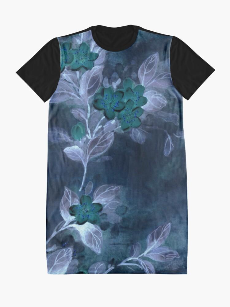 Alternate view of Garden Excerpt #104 Graphic T-Shirt Dress