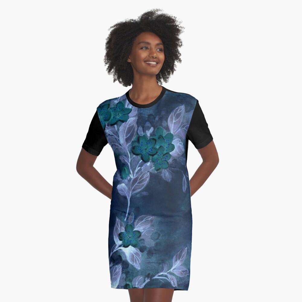Garden Excerpt #104 Graphic T-Shirt Dress