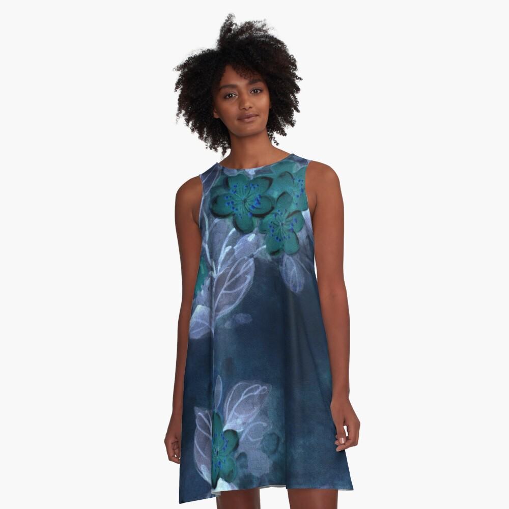Garden Excerpt #104 A-Line Dress