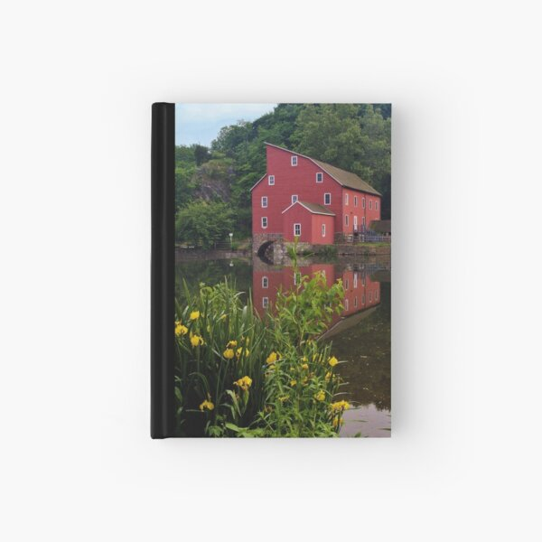 Flowers At The Mill Hardcover Journal