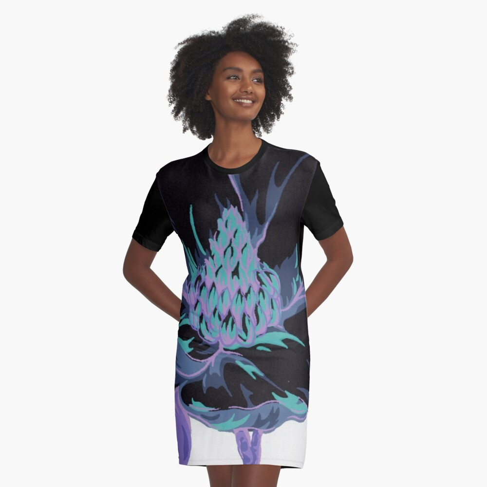 Magnolia's Evil Twin Graphic T-Shirt Dress