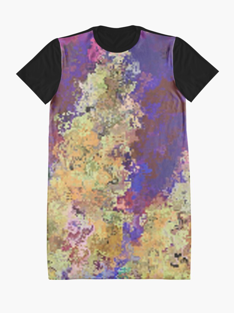 Alternate view of Dabble Flowers Graphic T-Shirt Dress