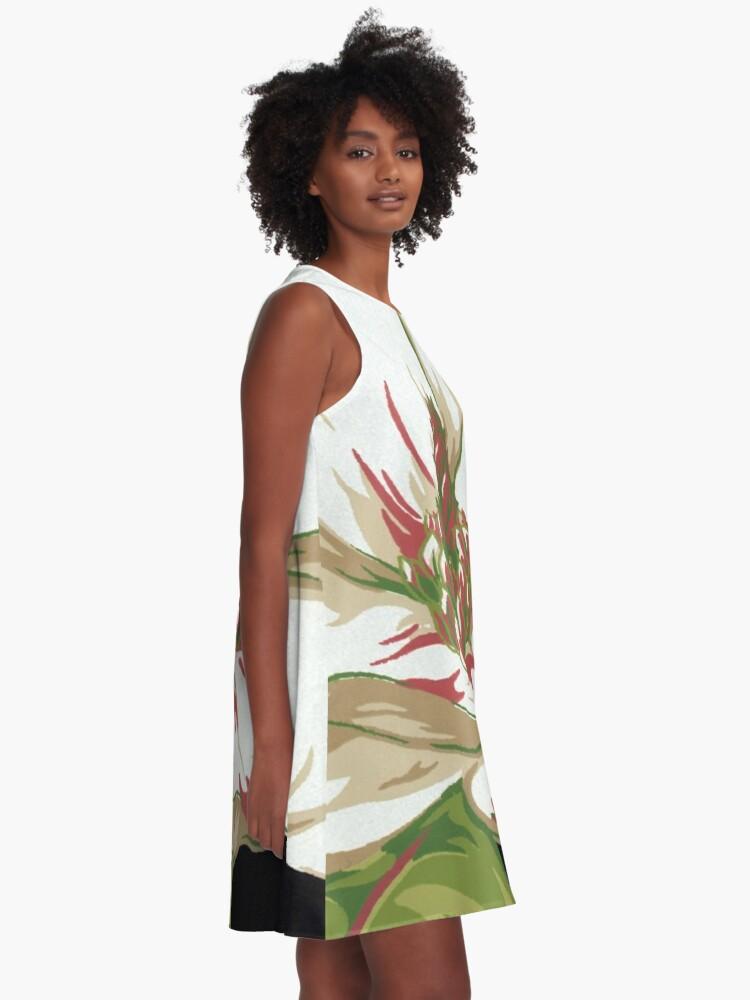 Alternate view of Sweet Magnolia #2 A-Line Dress